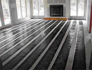 Snow Melting And Radiant Floor Heating